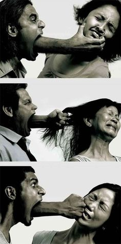 Verbal abuse is still abuse. Sometimes its so scarring you'd find yourself saying I rather get hit than hear your mouth for one minute longer. Sad but true.