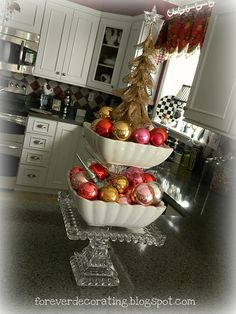 Forever Decorating!: Christmas Kitchen 2011