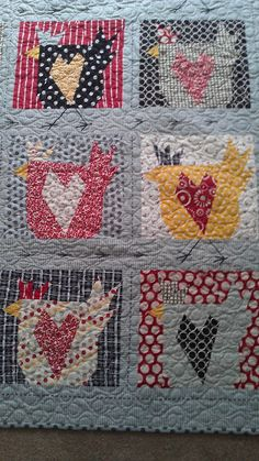 continually crazy blog Buggy Barn pattern, Barn Chicks""