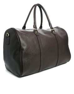 ASOS Smart Leather Look Holdall