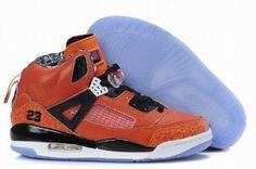 orange and black nike jordan 3.5 sneakers women 27199