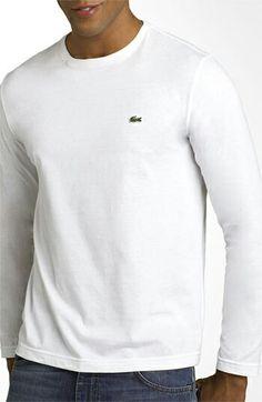 906ec7facf T Shirt Vest, Shirt Outfit, Lacoste Men, Long Hoodie, Fashion Essentials,