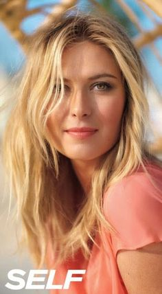 Tennis star Maria Sharapova is a fierce competitor on the court, a knockout on the red carpet and an incredibly savvy businesswoman. See Maria behind the scenes at her photo shoot! Maria Sharapova Hot, Sharapova Tennis, Beautiful Eyes, Beautiful Women, Most Beautiful Faces, Gorgeous Hair, Foto Sport, Maria Sarapova, Beauty Regime