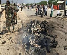 The United Arab Emirates' ambassador to Somalia narrowly escapes an al-Shabab suicide attack that kills 12 people in Mogadishu, reports say. United Arab Emirates, Bbc News, Africa, World, Pirates, Outdoor, The World, Outdoors, Outdoor Games