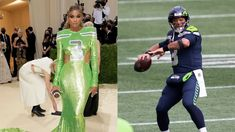 """'Ciara Wilson Is Repping Russell Wilson With His No.3 And Super Bowl Ring At The Met Gala"""": Seahawks QB's Wife Is Decked Out For New York City's Famous Ball 