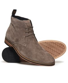 Shop Superdry Mens Trenton Sleek Chukka Boots in Mink. Buy now with free delivery from the Official Superdry Store. Mens Shoes Boots, Mens Boots Fashion, Lace Up Boots, Shoe Boots, Boots Chelsea, Flip Flop Boots, Men Dress, Dress Shoes, Women's Shoes