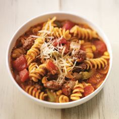 Best Lasagna Soup recipe from Taste of Home.