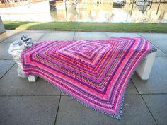 Atelier 'De Kleine Haven': Crochet blanket