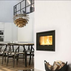 Robeys is in the heart of Derbyshire and stocks brands including Ortal, Piazzetta, Rais. View stock online, or visit our showroom in Belper, Derbyshire. Fireplace Design, Wood Burning, Interior Inspiration, Contemporary Fireplaces, Hearths, Wood Stoves, Whistler, Dining, Room