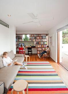 Sunshine Beach House by Wilson Architects in architecture  Category : bookcase