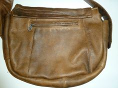 Soft leather bag ( my first ;) ) - back view