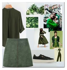Green style by ferlisad on Polyvore featuring moda, George J. Love, Trademark Fine Art, Pottery Barn, colorful, alternative, woman and fashiontrend #green #outfit #fall #winter #trend shop online www.sport85.com