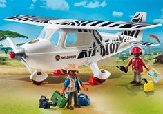 Playmobil Avion avec explorateurs - Castello | Jeux et Jouets