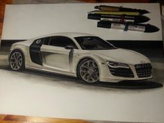 Some of my car drawings - Page 2