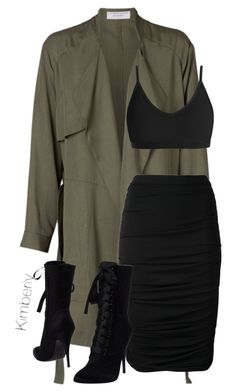 """Untitled #1822"" by whokd ❤ liked on Polyvore featuring Lanvin and Balmain"
