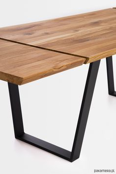Computer Desk Setup, Dining Table Legs, Wooden Tables, Furniture Ideas, Loft, Design, Home Decor, Dinning Table, Dining Tables