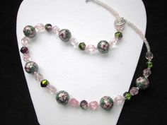 Cloissone Princess Diva Necklace  Delicate and by TheJewelryDiva, $22.00