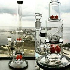 New Hot Sale Grace Glass Water Pipes With Gear Perc And Sprinkle Perc With Various Colors Hookahs Recycle Oil Rigs Glass Bongs From Relaxhome, $79.17 | Dhgate.Com