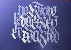Calligraphy, lettering, street art, custom culture... / Kaligrafia, liternictwo, sztuka ulicy...