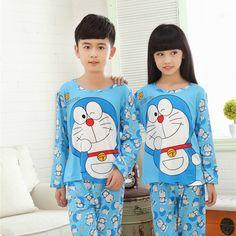 kids pajamas 2016 spring&autumn new cartoon long sleeve baby boys girls pyjamas Casual children sleepwear sets Christmas clothes #clothing,#shoes,#jewelry,#women,#men,#hats,#watches,#belts,#fashion,#style