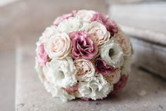 -All white wedding bouquet with tiny pink accents. White Wedding Bouquets, Bride Bouquets, Wedding Flowers, Our Wedding, Dream Wedding, Wedding Ideas, Polka Dot Wedding, Red Rose Bouquet, Wedding Photo Inspiration