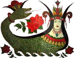 Şahmaran..    An ancient fairy tale character from Anatolia