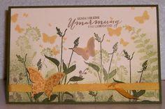 Frühlingskarte mit Stampin'Up! Produkten