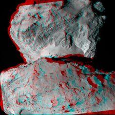Rosetta's Comet, Now in 3-D