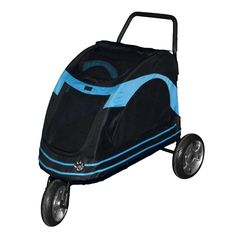 The Pet Gear Roadster Pet Stroller is an excellent combination of comfort and convenience. Its front wheel and two rear wheels combine to provide a smooth and stable ride for pets. <br/><br/>The Roadster Pet Stroller by Pet Gear is made from high-quality materials, and this allows it to last for a long time.The zippered roof of this pet stroller opens wide to allow you to carefully place your pet inside. The base of this stroller is firm and comfortable. Mesh windows on ...