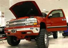Chevy pick up trucks!