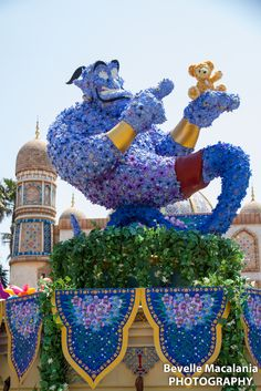 Genie Topiary at Walt Disney World