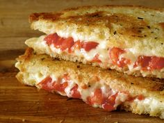 All Tomato Everything - 19 Sandwiches Featuring Tomatoes: Grilled Cheese with Tomato