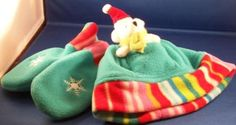 New-Hat-Set-Pocket-in-Hat-for-Christmas-Bear-Plush-Mittens-Gift-2-4-years