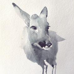Deer. Anastasya Kolbina_art