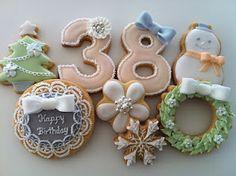 C.bonbon: birthday/Christmas cookies