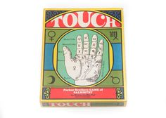 Vintage 1970's TOUCH Game of Palmistry by CULTTHREADS on Etsy