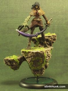 Tara, Nightmare Edition. Model by Wyrd Miniatures, painted by Stinkmunk (October 2013). #Malifaux