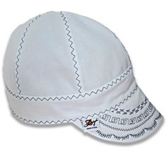 Unique custom embroidered welding caps, beanies, and hats made in the USA. We specialize in durable canvas, breathable and comfortable cotton, and exclusive hybrid fitters caps that combine the best of both worlds. Find yours style now at Southern Colorado Hats Welding Hats, Pipe Welding, Welding Cap Pattern, Wreath Crafts, Hat Making, Beanie Hats, Little Girls, Baseball Hats, Wreaths
