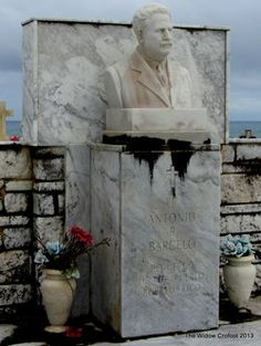 Grave of Antonio R. Barceló (1) Birth: Apr. 15, 1868 Death: Oct. 15, 1938  Lawyer and statesman, was the first President of the Senate of Puerto Rico. Received a Doctorate Honoris Causae from Columbia University in 1928. Fought for social justice in Puerto Rico.