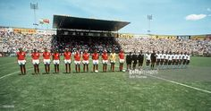 World Cup Finals Leon Mexico 14th June England 2 v West Germany 3 The... News Photo   Getty Images
