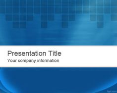 abstract blue powerpoint template is a professional ready made powerpoint template background with blue colors and
