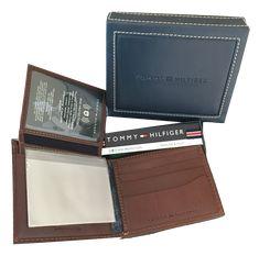 Carteira-Tommy-Hilfiger-Marron Tommy Hilfiger, Card Holder, Wallet, Viajes, Rolodex, Purses, Diy Wallet, Purse