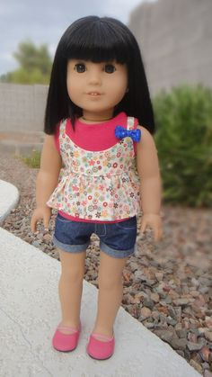 American Girl Doll Clothes  Fun Florals by BuzzinBea on Etsy, $21.00