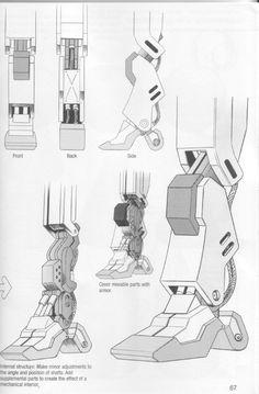 Como Desenhar Mangá - Robôs Character Design References, Character Art, Robot Sketch, Robots Drawing, Robot Parts, Robot Concept Art, Gundam Art, Transformers Art, Futuristic Design