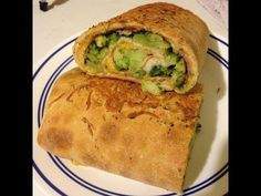 food friday: Ham, Cheese & Broccoli Stromboli - YouTube