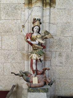 Kunst Online, St Michael, Monster, Legends, Sculptures, Christian, Painting, Saints, Art