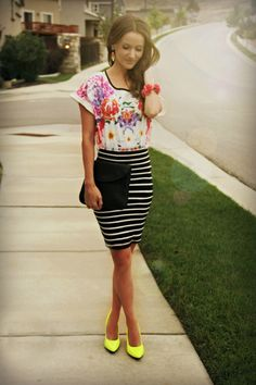 How to mix prints  Kiss Me Darling