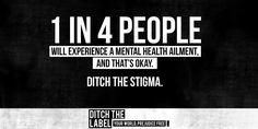 Ditch the stigma!