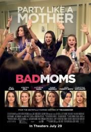"Bad Moms        Bad Moms      Opasne mame  Ocena:  6.30  Žanr:  Comedy  ""Party Like a Mother""Amy has a seemingly perfect life - a great marriage over-achieving kids a beautiful home and a career. However she's overworked over-committed and exhausted to the point that she's about to snap. Fed up she joins forces with two other over-stressed moms on a quest to liberate themselves from conventional responsibilities - going on a wild un-mom-like binge of long overdue freedom fun and…"