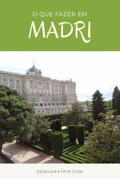 Madri, capital da Espanha, é uma cidade cheia de pontos turísticos interessantes, com uma vida cultural intensa e muito entretenimento. Legal de dia e à noite. Veja quais são as melhores atrações